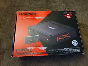 Kicker-KX-1-Ohm-Class-D-Mono-Amplifier-Class-D-Car-Amp-KXA1200-1-44KXA12001