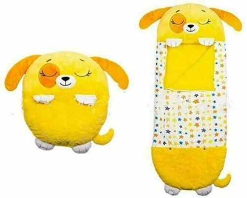 Kids Boys Girls Sleeping Bag Animal Play Pillow Unicorn Cartoon UK
