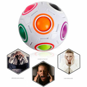Cube-Puzzle-Twist-Toy-Magic-Creative-Ball-Shaped-Rainbow-Spherical-Adult-Kids-Z
