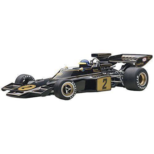 AUTOart 1 18 LOTUS 72E 1973   2 Ronnie Peterson avec chauffeur Figure Composite Model