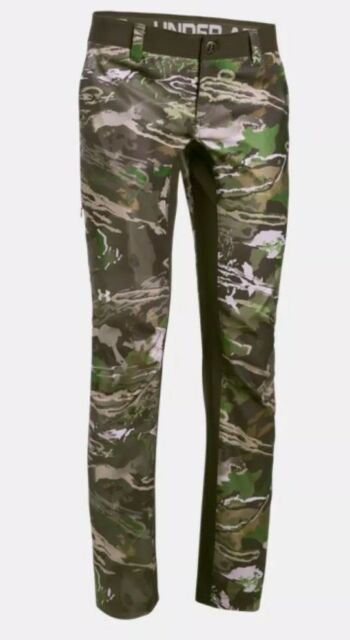 540290cd9a7a1 Under Armour Womens Forest Camo Hunting Pants Storm Early Season Size 8 UA