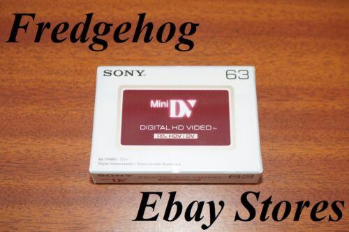 Alta Definición Sony Dvm-63 Profesional Mini Dv Cámara de Vídeo Digital Cinta //