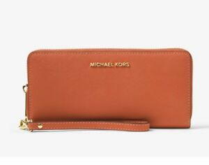f0982e02789d Image is loading NEW-MICHAEL-KORS-Jet-Set-Travel-Leather-Continental-