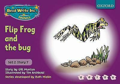 Read Write Inc. Phonics: Purple Set 2 Storybook 7 Flip Frog and the Bug