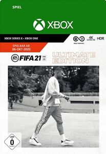 [VPN Aktiv] FIFA 21 Ultimate Edition Spiel - Xbox One & Series X|S Download Code