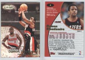 18d1c06664d 2000-01 Topps Gold Label Class 2 #4 Damon Stoudamire Portland Trail ...