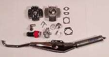 PUCH 70cc 45mm Hi Performance Big Bore Complete Kit w Exhaust for ZA50 E50 moped