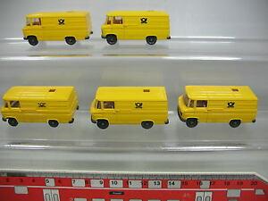 AF193-0-5-5x-Wiking-H0-Transporter-Modell-Mercedes-Benz-MB-27-Post-NEUW