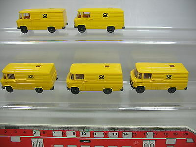 Mint Outstanding Features 5 #5x Wiking H0 Transporter-modell Mercedes-benz Mb 27 Post Buy Cheap Af193-0