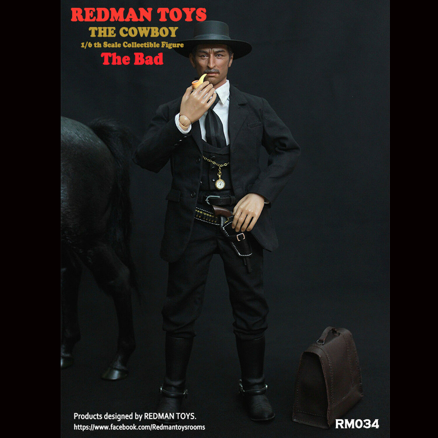 REDMAN TOYS The COWBOY The Bad 1 6 Scale Collectible Action Figure
