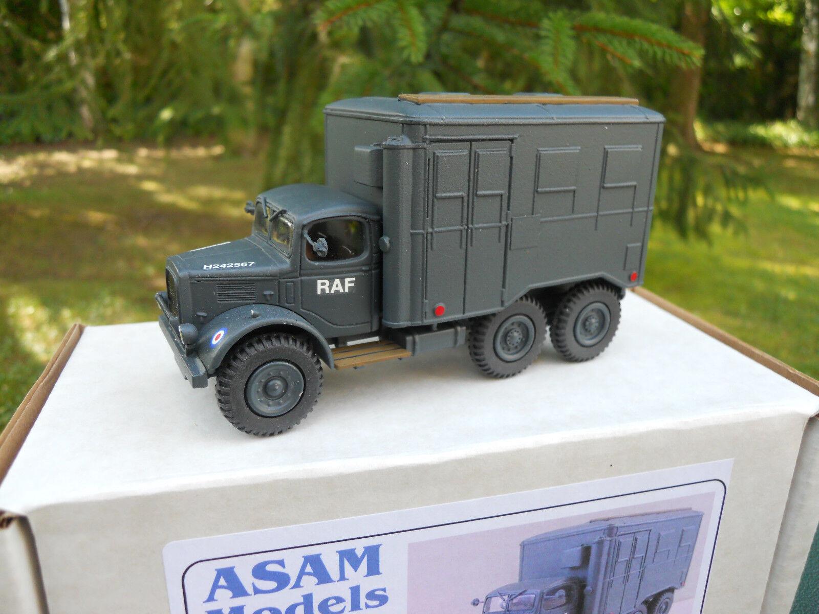 VEHICLE MILITARY ASAM MODELS AUSTIN K6 WORKSHOP RAF MINT IN BOX