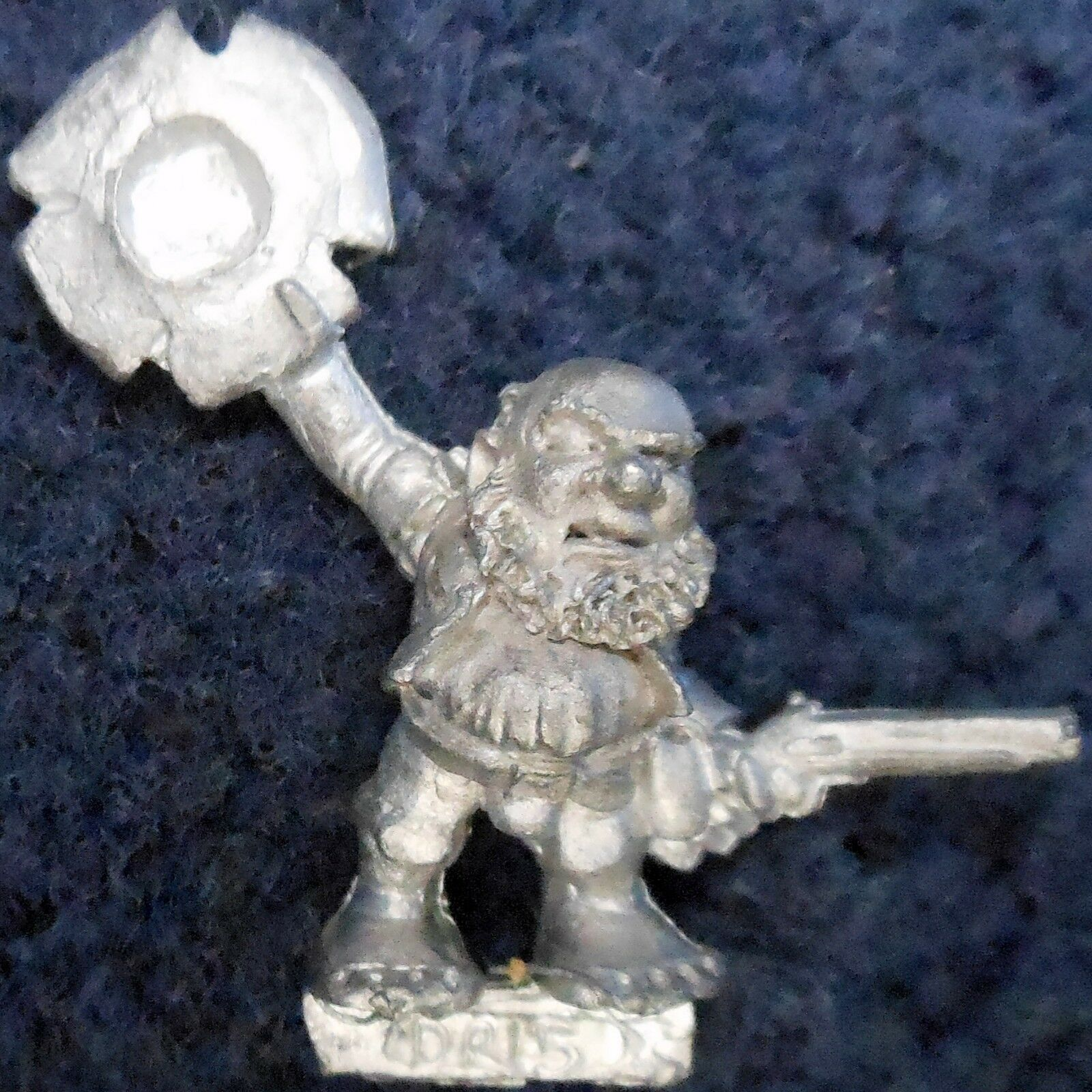 1989 Marauder MM15 DR15 Dwarf with Pistol Landsnecht MM15 2 Landsknecht Army GW
