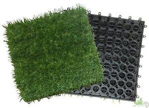 Pezzi piastrella mattonella moquette prato erba prato sintetico