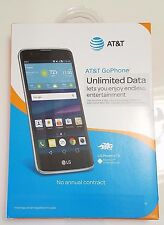 AT&T Prepaid LG Phoenix 2 4G LTE with 16GB Memory GSM Cell Phone K37111n - Black