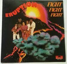 Eruption - Fight Fight Fight LP, Malaysia RARE, Polydor