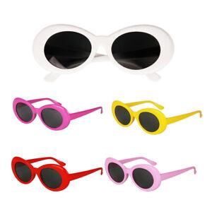 Retro-Kurt-Cobain-Glasses-Clout-Goggles-Sunglasses-Oval-Bold-Mod-Thick-Frame