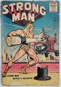 Strong-Man-1-1955-1-0-Detached-Cover-Magazine-Enterprises