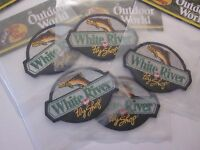 Bass Pro Shops White River Patch 4 Outdoor World 4x3 Inches Factory Sealed 33