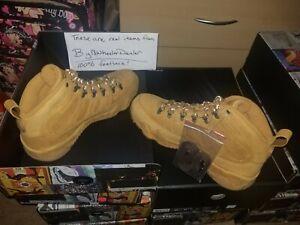 Nike-Air-Jordan-Retro-9-IX-NRG-Boot-Wheat-Baroque-Brown-Men-039-s-Size-10-AR4491-700