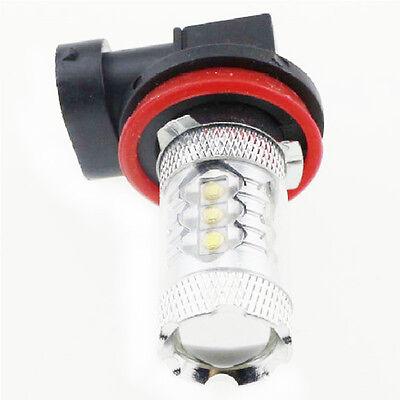 H11 80W Cree High Power LED Car fog Running White Light Bulbs 12V 24V Lamp