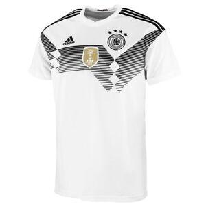 Adidas DFB Allemagne Hommes Heim Maillot COUPE DU MONDE 2018 HOME JERSEY br7843