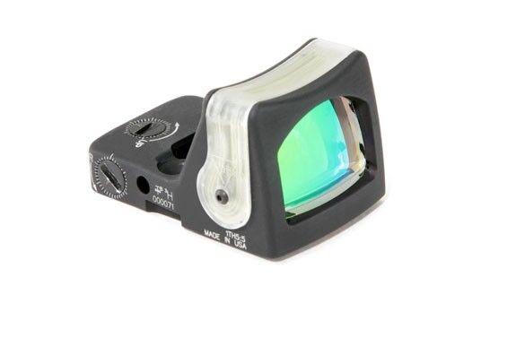 Trijicon RM08A RMR Dual-Illuminated Reflex Sight 12.9 MOA Amber Triangle