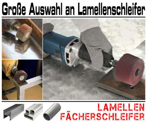 K60 5 x Lamellen Fächer Schleifer Schleiffächer Schleifmop Schleifstift Ø 40mm