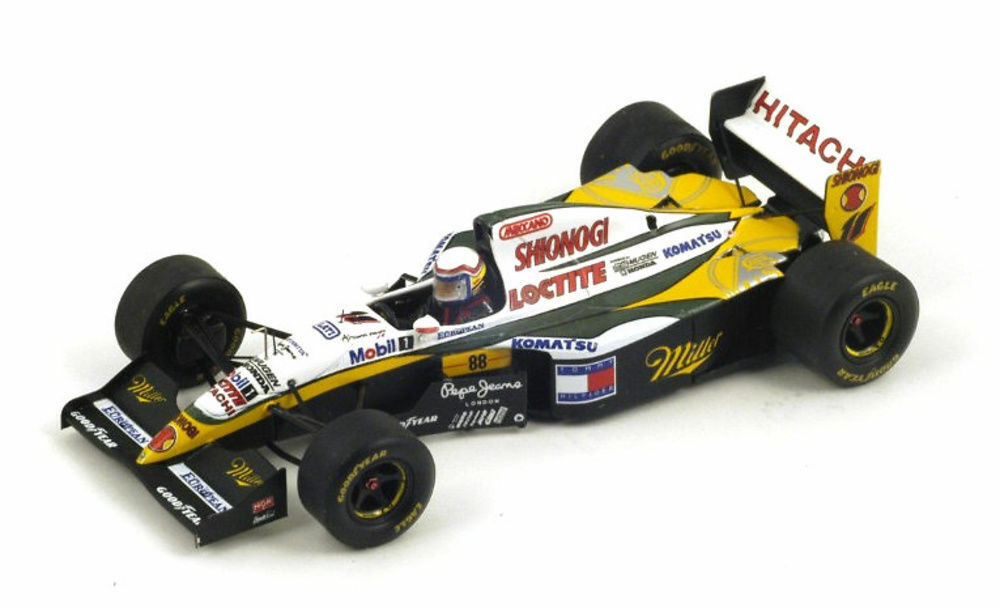 S1671 S1671 S1671 Spark 1 43   Lotus 109 Alessandro Zanardi British G.P.  Miller  7b7b81