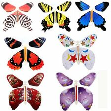 7Pcs Magic Creative Flying Butterfly Change From Empty Hands Trick Prop Toy Game