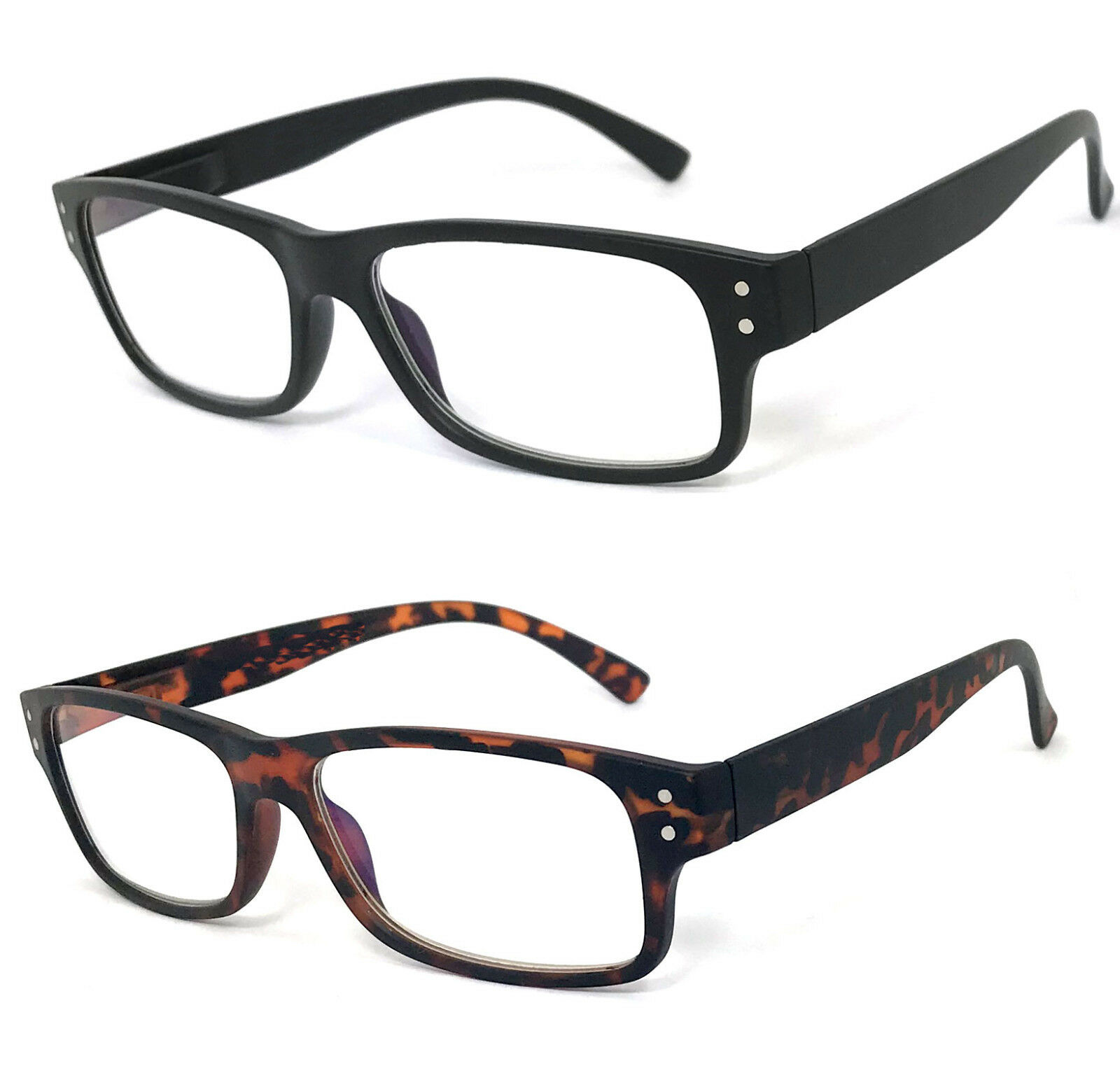 050aca06890c Details about 1 or 2 Pair Pro Computer Reading Glasses Anti Reflective  Block Blue Ray UV400