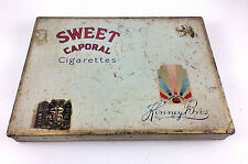 1934-35 Kinney Bros. Sweet Caporal 50 ct. Cigarette Tobacco Tin Box