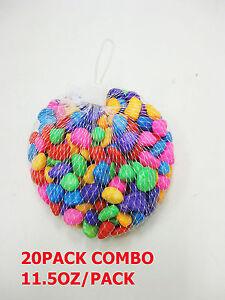20pack Multi Color Polished Stone For Aquarium Fishing