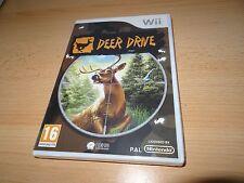 Nintendo Wii Deer Drive Hunter Game new sealed uk pal version