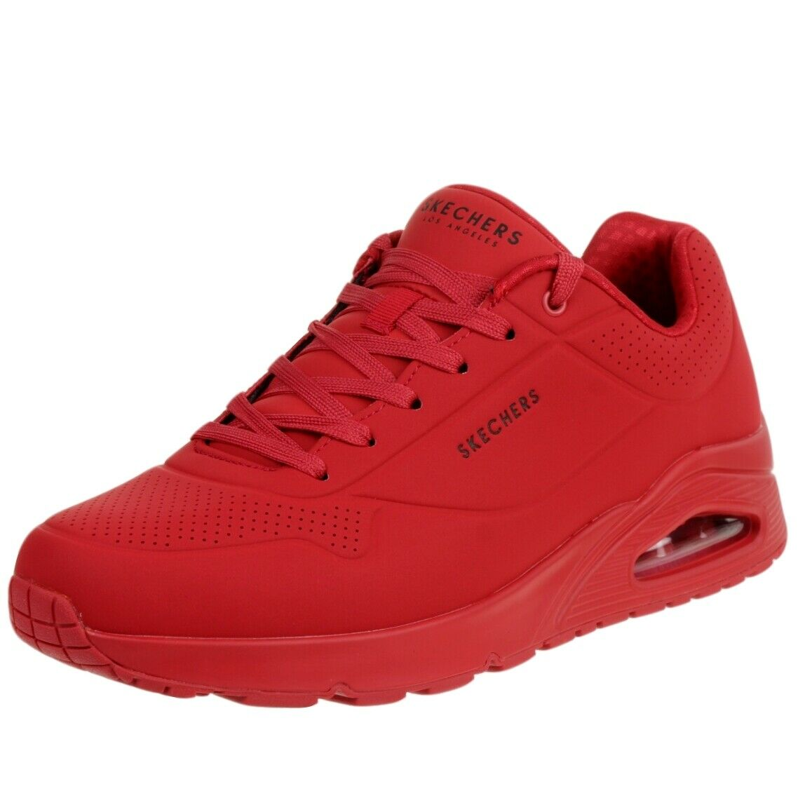Skechers Mens Sport Casual UNO STAND ON AIR Sneakers Men Rot KD3la