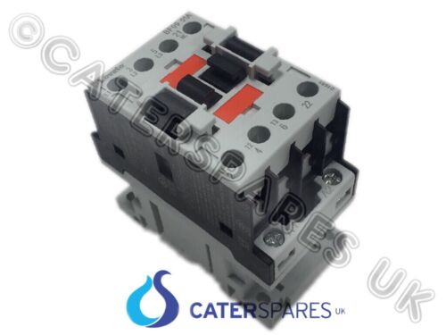TRIPLE POLE POWER CONTACTOR 230V COIL 25A RATED 3xN//O 1xN//C CONTACTS FRYERS OVEN