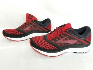 2b4b25dbc6d Men s Brooks Revel Size 8 Running Shoes Red Black 1102601D669