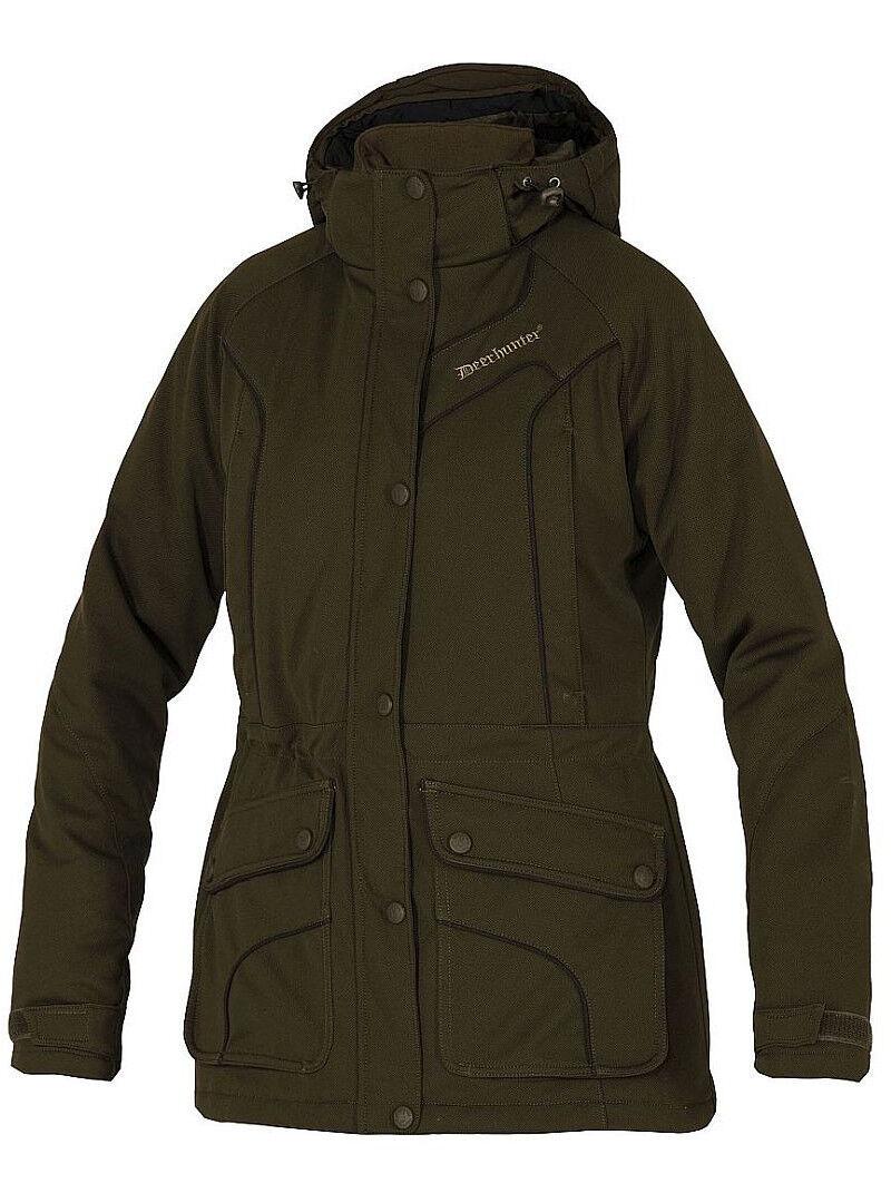 Deerhunter Lady Mary chaqueta 5525 376 DH Art verde tamaño 38 caza