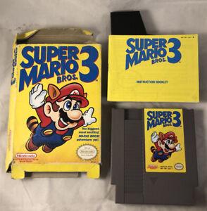 NES-Super-Mario-Bros-3-Complete-CIB-Nintendo-1990-Tested-Works-Box-Is-Rough