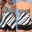 AU-Ladies-Women-Tankini-Bikini-Set-Swimming-Costume-Swimsuit-Beachwear-Plus-Size