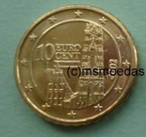 Oesterreich Austria 10 20 50 Cent Münze Euromünze Coins Nominal