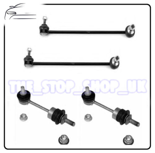 4X4 03 BMW E60 E61 Exc Front /& Rear Anti Roll Bar Drop Link Rods Bars