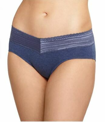 NEW NWT WARNER/'S Women/'s No Pinches No Problem Cotton Lace Hipster Panty RU1091P