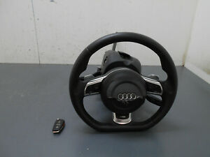 2012-09-10-11-12-13-Audi-R8-V10-Steering-Wheel-Column-02922