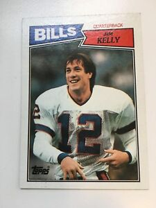 1987-Topps-Football-Jim-Kelly-ROOKIE-RC-362