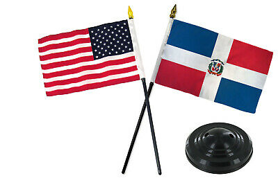 JumpingLight Air Force w//USA America American Flag 4x6 Desk Set Table Stick Gold Base