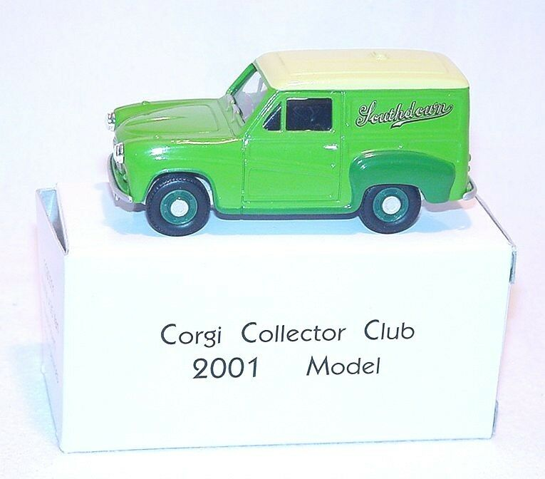Corgi Toys 1 43 CORGI CLUB CLUB CLUB MODEL 2001 AUSTIN A35 Van MB 39ccd1