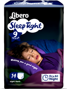 Mon ChéRi Libero Sleep Tight Mutandine Assorbenti Per La Notte Taglia A Scelta 22 A 60 Kg
