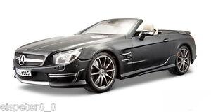 MERCEDES-BENZ-SL-65-AMG-Maisto-Auto-Modelo-1-18-NUEVO-emb-orig