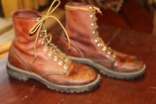 VINTAGE RED WING IRISH SETTER WORK HUNTING BOOTS 8