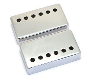 PC-0300-010 Chrome Humbucker Pickup Covers for PAF Vintage Gibson Guitar
